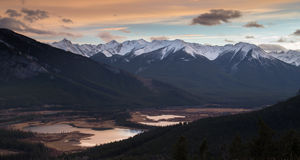 Banff Image libre de droits