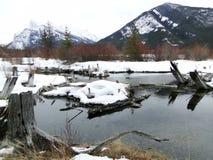 Banff Fotografia Stock Libera da Diritti