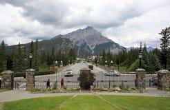 Banff стоковое изображение rf