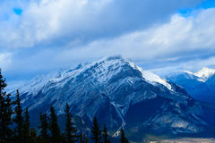 Banff, AB, Канада Стоковое Фото