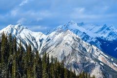 Banff, AB, Канада Стоковое Изображение RF