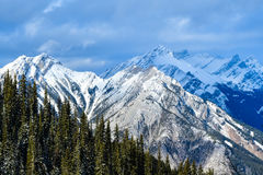 Banff, AB, Canadá Imagem de Stock Royalty Free