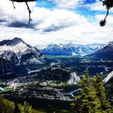 Banff, AB, Canada Stock Photography