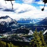 Banff, AB, Canada Stock Photography