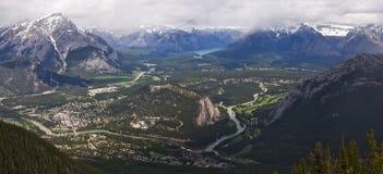 Banff Alberta 2 Imágenes de archivo libres de regalías