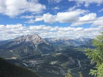Banff, Alberta Fotos de Stock Royalty Free