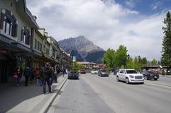 Banff, Alberta Fotografia de Stock Royalty Free