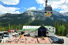 Banff Alberta, Canada Fotografie Stock Libere da Diritti