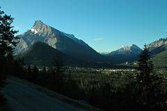 Banff Alberta Canada. Stock Image