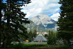 Banff Alberta,Canada Stock Photo