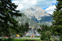 Banff Alberta,Canada Stock Images