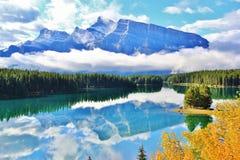 Banff , Alberta , Canada Royalty Free Stock Photo