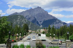 Banff,Alberta ,Canada Royalty Free Stock Photos