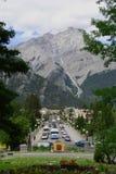 Banff, Alberta, Kanada Stockbilder