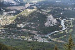 Banff Alberta, Kanada Royaltyfria Foton