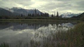 Banff, Alberta, Vermilion jeziora, 4K UHD zdjęcie wideo