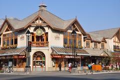 Banff Avenue Stock Photography