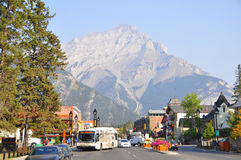 Banff Avenue Stock Images