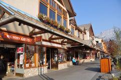 Banff aveny Royaltyfria Bilder
