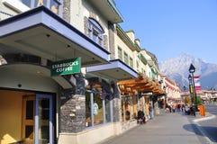 Banff aveny Royaltyfri Foto