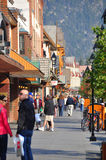 Banff aveny Arkivbild