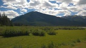 Banff berg Royaltyfri Fotografi
