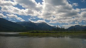 Banff berg Royaltyfria Bilder