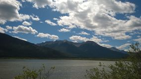 Banff berg Arkivbild