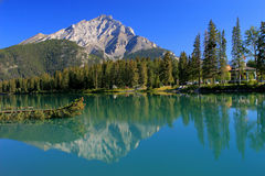 Banff Bow River Stock Photography