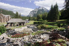BANFF, CANADA - SEPTEMBER 1, 2016: Parks Canada Administration B Stock Images