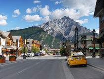 Banff Centre, Alberta Royalty Free Stock Images