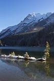banff dźwigarki jezioro dwa Zdjęcia Stock