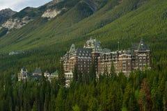 Banff entspringt Hotel Lizenzfreie Stockbilder