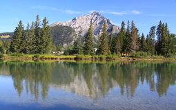 Banff - Flussbogen Lizenzfreies Stockbild