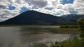 Banff góra Zdjęcia Stock