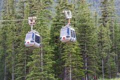 Banff Gondola to Sulpher Mountain stock photography