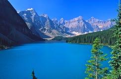 banff jeziora morraine Obrazy Stock