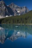 banff jeziorny moreny park narodowy Obraz Stock