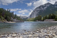 banff Kanada naturlig park Royaltyfri Fotografi