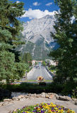banff kanadensare rockies Arkivbilder