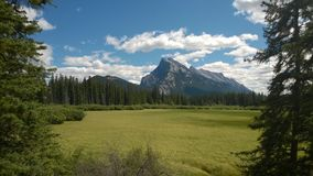 Banff mountain Stock Images