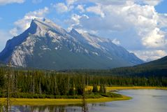 Banff nationaal park Royalty-vrije Stock Foto