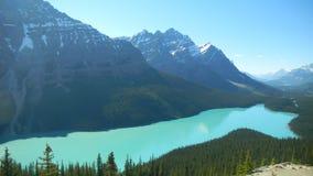Banff Nationaal Park, Alberta Canada Stock Afbeelding