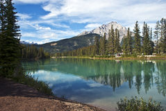 Banff Nationaal Park, Alberta, Canada Stock Foto