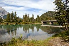 Banff Nationaal Park, Alberta, Canada Stock Afbeeldingen
