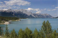 Banff National Park Abraham Lake Royalty Free Stock Images