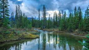 Banff National Park, Alberta, Canada stock video footage