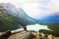 Banff National park, Canada Royalty Free Stock Images