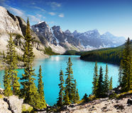 Banff National Park, Canadian Rockies Stock Photography