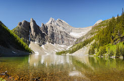 Banff National Park, Lake Agnes Royalty Free Stock Photos